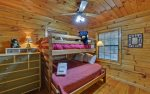 Bedroom 2 Features Twin/Full Bunk Beds