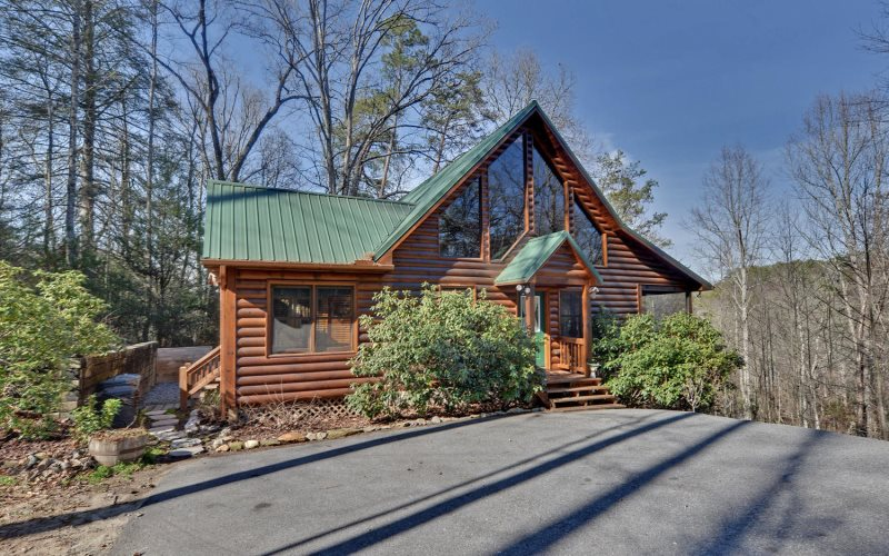 Sugar creek hideaway blue ridge cabin rentals georgia