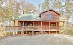 LINWOOD LODGE - Private and Secluded Blue Ridge Cabin Rental only 5 Minutes from Downtown Blue Ridge