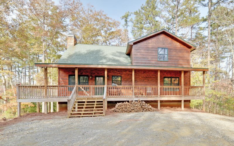 Linwood lodge blue ridge mountain cabin rentals