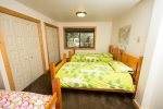 Bedroom 1Bed room 1-updated as of winter 16, 1 twin and a bunk bed with Twin over Full