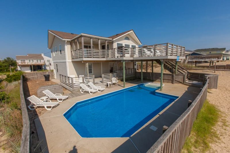 Oceanfront Beach House Sandbridge Vacation Rental Best Sandbridge Beach House Virginia