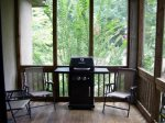 Screen Porch with Gas Grill
