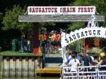 Take the chain ferry across the river and walk to Oval Beach, Mt. Baldhead, and the Saugatuck Museum