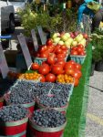 The local farmer`s market is every Friday at the SCA
