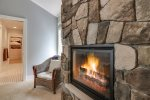 Gas fireplace available in the master suite