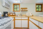 Kitchen with coffee maker for your morning cuppa