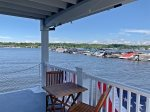Amazing views of the Saugatuck Harbor from Floating Cottage