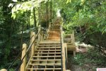 Mt. Baldhead has 303 steps to the top