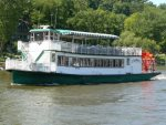 Enjoy a cruise along the river on the Star of Saugatuck