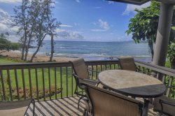 Fantastic views from Building 5 condo. Wailua Bay and our beach are only steps away! SEE VIDEO BELOW.