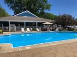 Clubhouse and Pool access is included in all reservations, walking distance from the cottage.