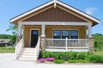 The Wildflower Cottage is an eco-friendly retreat in the beautiful Harbor Club South Haven Resort.
