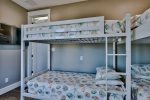 Second Floor Bunk Room with 2 Sets of Twin over Twin Bunks and Private Bathroom
