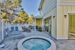 Private Pool Deck with Overflow Spa