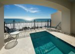Frangista Beach Gulf Front Home with Private Splash Pool! Elevator, Pet Friendly!