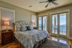 3rd Floor Master King Suite with Private Balcony and Panoramic Views of the Gulf