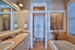3rd Floor King Suite Bathroom with Soaker Tub and Double Vanities