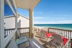 Dine Alfresco and Listen to the Waves on the Large Back Deck