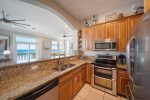 Fully Stocked Kitchen & Stainless Steel Appliances