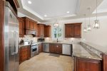 Luxurious Kitchen, Just Like Cooking at Home. Stainless Steel Appliances, Two Dishwashers, Large Refrigerator and Ice Machine