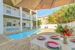 Calypso Features a Large Private Pool and Hot Tub