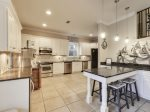 Fully Upgraded and Stocked Kitchen feat. Stainless Appliances