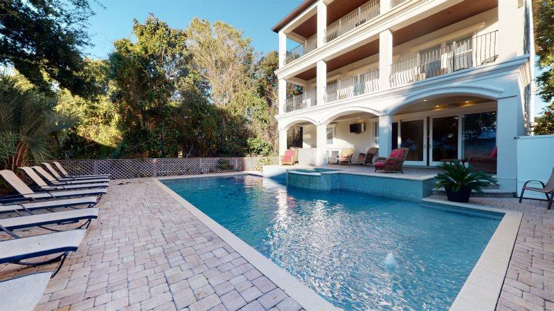 Beach House Destin Florida Part - 32: Venetian Palace   Beach Reunion Vacation Home Rentals   Destin, FL    Frangista Beach