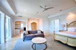Third Floor Gulf View Master King Suite with Private Bath, Living Area, and Balcony