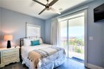 3rd Floor Gulf View Master King Suite with Private Bath, Living Area, and Balcony