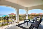 Third Floor Master King Suite Private Furnished Balcony With Gulf Views