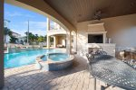 Vacation Mode to the Max in the Spacious Pool Deck and Summer Kitchen, Fun for All in the FL Sunshine