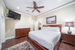 Second Floor King Suite with Custom Built Twin over Twin Bunks, Sleeps 4