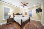 Third Floor King Suite with Custom Built Twin over Twin Bunks, Sleeps 4