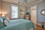 2nd Floor King Suites Private Bath, Jacuzzi Tub, Double Vanities, Plus a Walk-In Shower