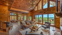 Shooting Star Lodge - Mountain Top Cabin Rentals