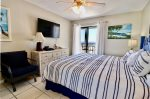 Master bedroom- King- Access to the balcony- Direct Gulf view from Master