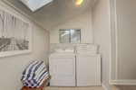 Soak in the private hot tub under the stars