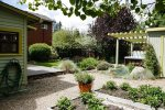 Sequestered Garden with Outdoor Hot Tub