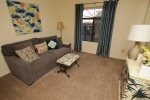 Third bedroom offers a full size sofa sleeper