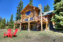 Endless Views! Stunning Log Cabin! Peaceful Getaway!