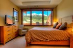 The Guest Bedroom offers stunning mountain views
