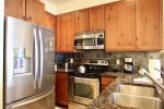 The nicely updated kitchen is great for cooking a quick breakfast or a thanksgiving meal.