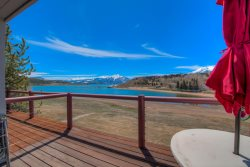 1 bedroom, stunning views right on Lake Dillon!