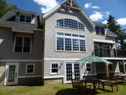 Stunning Post and Beam, offering waterfront privacy