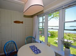 Classic Maine waterfront cottage on stunning Crescent Beach