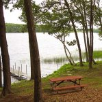 Picnic area and dock