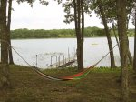Hammock and dock