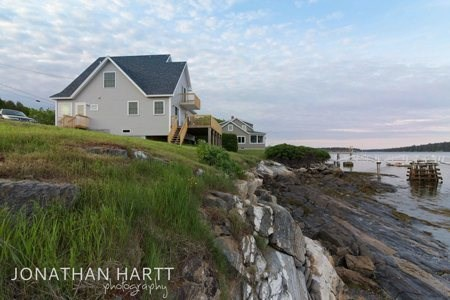 Coastal Maine Vacation Perfection Private Beach Wharf And Clic Modern Accomodations