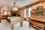 Family room - piano